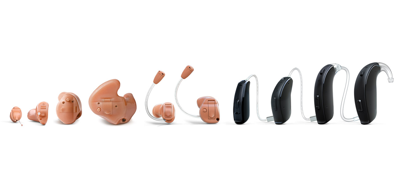 Resound Linx2 hearing aids styles