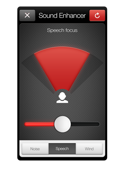 Speech Focus